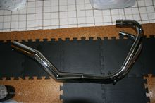 CB250KSY メッキ ショート管の単体画像