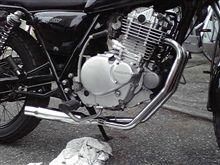 グラストラッカー ビッグボーイ不明 ステンレス フルエキショートマフラーの全体画像
