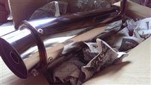ヴェクスター不明 砲弾マフラーの単体画像