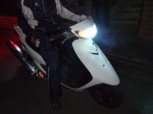 JOG ZR Evolution (エボリューション)謎の中華製w バイク用25W PH12 Hi/Lo 6000k HIDキット の全体画像