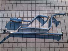 MAXヒサワ工業 GIGA N1オールステンレスマフラーの単体画像