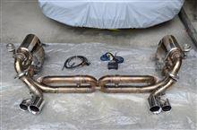 911 カブリオレiPE / Innotech performance exhaust iPE 可変バルブ マフラーの単体画像
