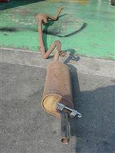 サバンナ東洋工業株式会社 メーンサイレンサー(セダン&クーペ) 0866-40-100の単体画像