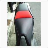 明和内張 バイクシート シート張替え