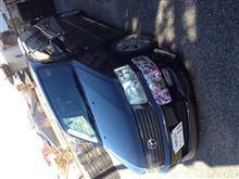 サクシードバンパーコーナー ステッカーボムの全体画像