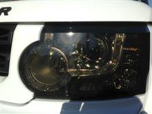 ディスカバリー4Land Rover(純正) ヘッドライト、テールランプブラック加工の単体画像