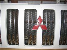 パジェロジュニア三菱自動車(純正) パジェロミニ DUKE用グリルの全体画像