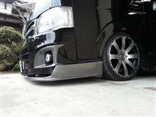 ハイエースワゴントヨタ(純正) 純正バンパー鏡面仕上げの全体画像