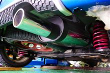 1007REMUS スポーツラベルマフラーの全体画像