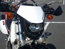 XR600Rポリスポーツ HALOヘッドライトの単体画像