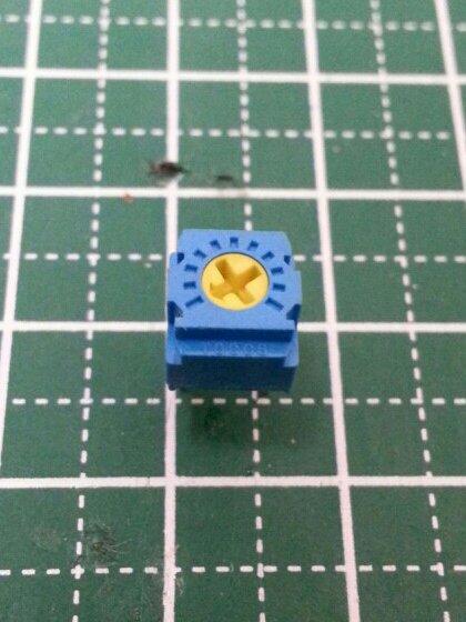 TOCOS / 東京コスモス 単回転型 サーメットトリマ GF063 103(半固定抵抗 10kΩ)