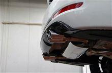 3シリーズグランツーリスモ3D Design 4本出しマフラーの単体画像