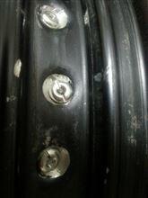 ジェベル250XCFace ドラム用リム加工 エキセルリム 3.00の全体画像