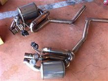 RS5irom Exhaust System バルブアクチュエーター付マフラーの単体画像