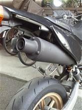 XR100 モタードホンダ(純正) CRF100用 マフラーの単体画像