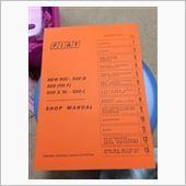 Fiat Shop Manual