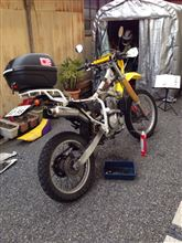 DR250Rプロスキル 4レーシングの全体画像