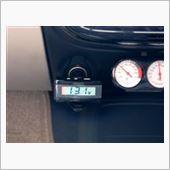 CAR MATE / カーメイト ELクロック&電圧計 / CZ83