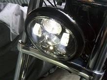 ソフテイル ブレイクアウトHARLEY-DAVIDSON 5-3/4インチ・ディメーカー LED ヘッドランプの単体画像