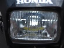 XR100 モタード本当に有名メーカーではない  LED のヘッドライトの単体画像