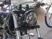 ソフテイル スタンダードハーレーダビッドソン(純正) 純正LEDヘッドライトの単体画像