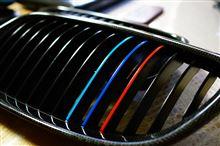 3シリーズ クーペBMW Performance ブラック・キドニー・グリル(ワンオフグリル枠部分平織りカーボン化)の単体画像