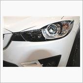 DUCKS GARDEN CX-5 ライト インサイド カーボン ガーニッシュ