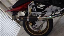 CB400 SUPER FOUR スペック3TSR(テクニカルスポーツレーシング) チタンフルエキゾースト E14の単体画像