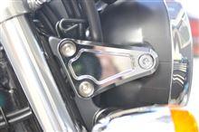 CB1100EXC.F.POSH マシンドヘッドライトステーの全体画像