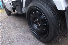 スクラムトラックトヨタ純正 不明鉄チンホイールの単体画像