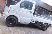 スクラムトラックトヨタ純正 不明鉄チンホイールの全体画像
