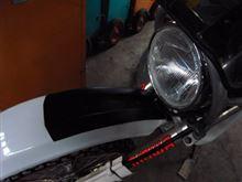 DR250SHEWOODS PROS WOODS PROS BAJA LIGHT KITの全体画像