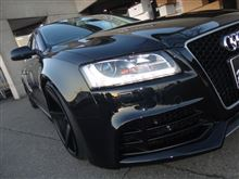 A5 スポーツバックRIEGER TUNING RS5 Look Front Bamperの全体画像