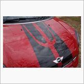BMW MINI(純正) スポーツストライプ エンジンフード/トランクセット