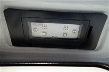 AUDI LEDライセンスプレートライトユニット