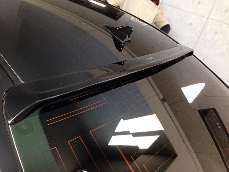 Lexon Questpower Lexon Exclusive Rear Roof Wing のパーツレビュー