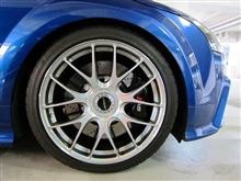 TT RS プラスクーペRAYS VOLK RACING VOLK RACING G27の単体画像