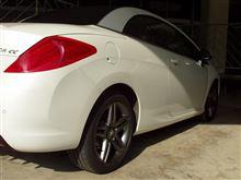 308CC (カブリオレ)プジョー(純正) Stromboli Dark 17インチの単体画像