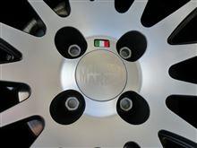 """フィアット500 C (カブリオレ)MAGNETI MARELLI Light Alloy Wheels """"bicolor"""" 7x17""""の単体画像"""