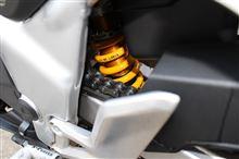 CBR250ROHLINS OHLINS ネジ式車高調整コンプリートキットの全体画像