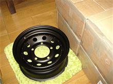 ディフェンダーTF ALLMAKES GRW006 : BLACK MODULAR 7x16 STEEL ROAD WHEELの単体画像