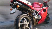 996テルミニョーニ 45Φ カーボン スリップオンの単体画像