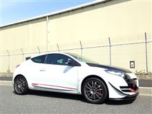 メガーヌ ルノー・スポールcarol racing renault フロントリップスポイラーの全体画像