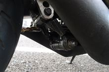TZR250純正加工品(ワンオフ) 車高調整式リアサスリンクの全体画像