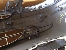 ビアノメルセデス・ベンツ(純正) V350 PTS付きフロントバンパーの全体画像