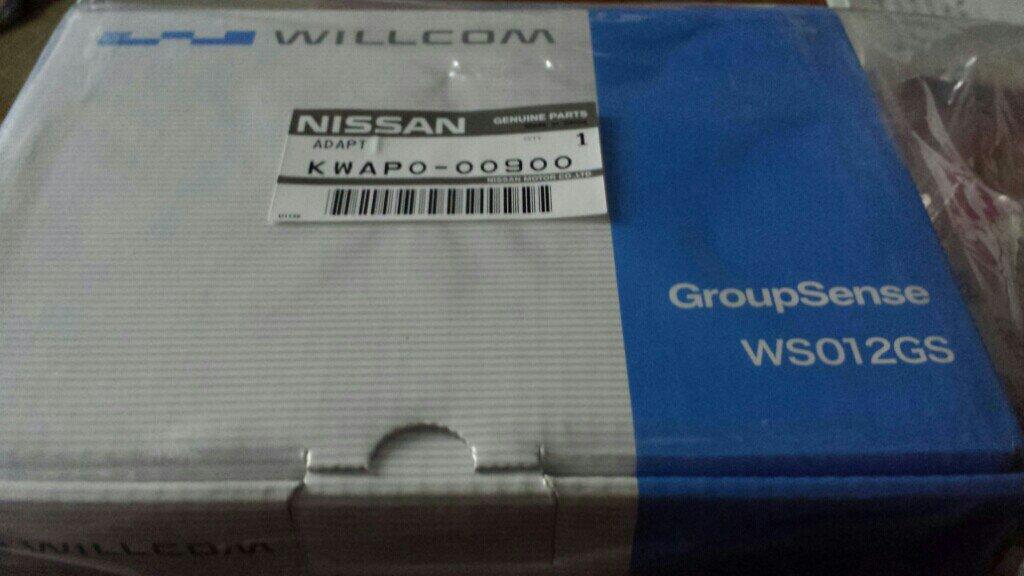 WILLCOM カーウイングス専用通信ユニット WS012GS