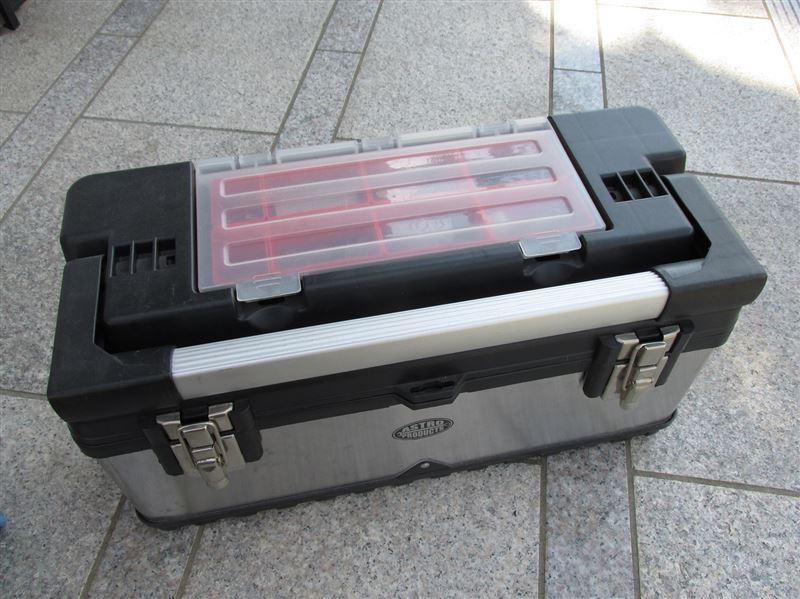 ASTRO PRODUCTS SUS ツールボックス with アルミハンドル