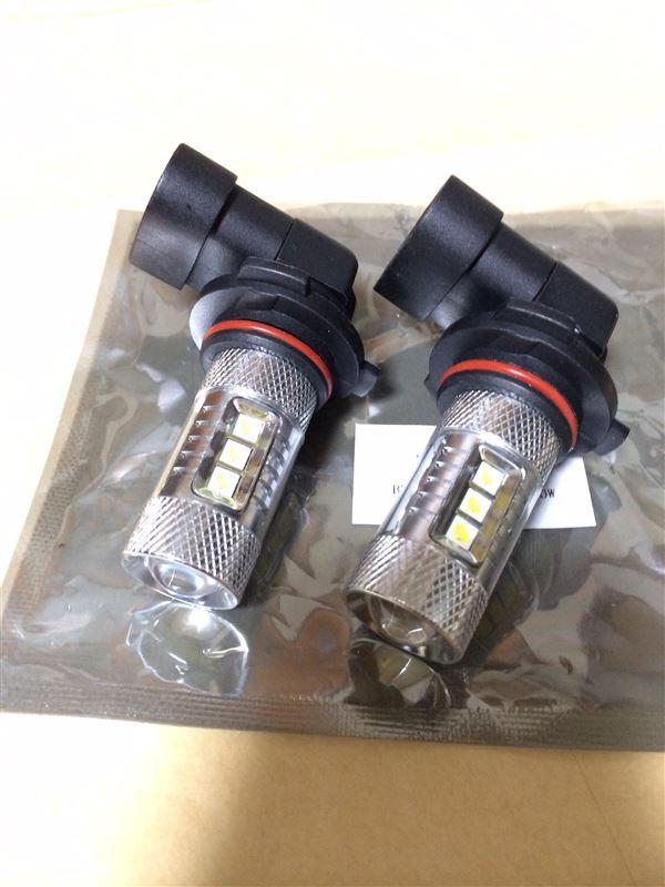 CREE LED フォグランプ 80W CREE製 【HB4】 【クリアホワイト 6500K】