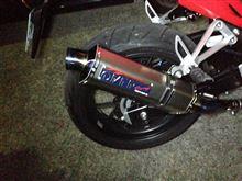 CBR400Rオーバーレーシング TT-Formula Slip Onの単体画像