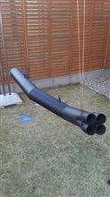 ゼファー750モリワキエンジニアリング ショート管 ブラックの単体画像